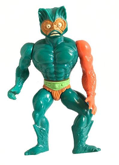 1981 Vintage MOTU Mer-Man By Mattel [No Armor, Weapon]