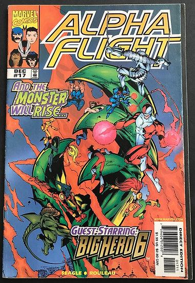 Alpha Flight (1997 2nd Series) #17 FN+