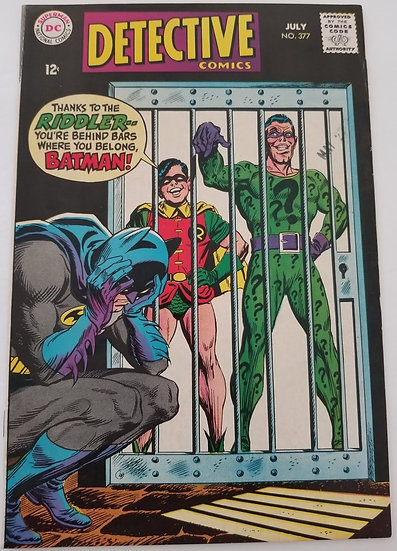 Detective Comics 377 VF Early Riddler appearance