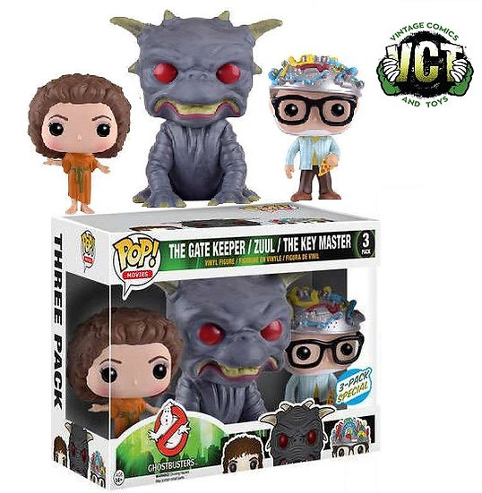 Funko Pop Ghostbusters The Gate Keeper/Zuul/The Key Master 3 Pack Special
