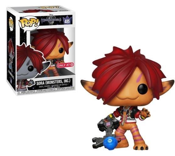 Funko Pop Kingdom Hearts lll Sora Monsters Inc 485 Target Exclusive