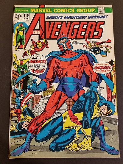 Avengers (1963 1st Series) #110 VF [Magneto appearance.]