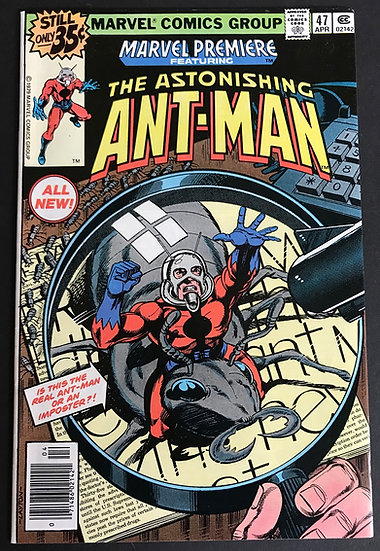 Marvel Premiere (1972) #47 NM- [The Astonishing Ant-Man]