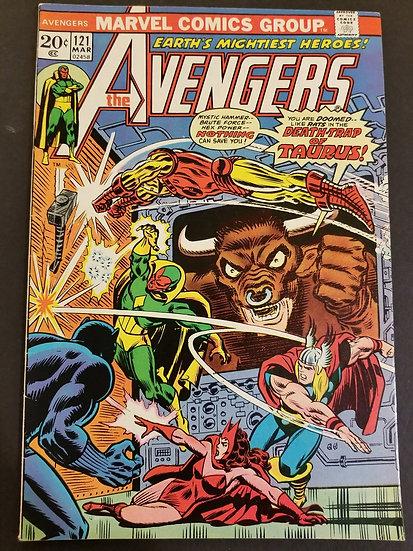 Avengers (1963 1st Series) #121 VF