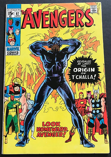 Avengers (Marvel ) #87 VF-