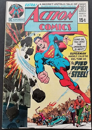 Action Comics (1938 DC) #398 FN