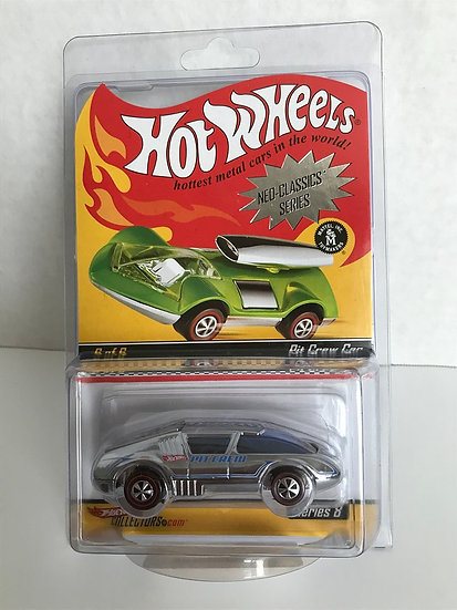Hot Wheels Red Line Club Neo-Classics Series 6 Of 6 Pit Crew Car P9101
