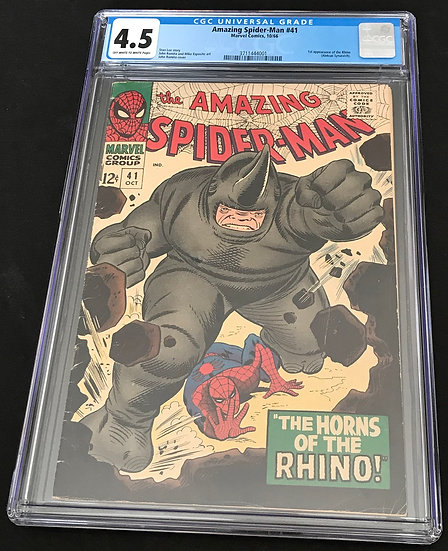 Amazing Spider-Man (Marvel) #41 CGC 4.5 Off-White To White Pages