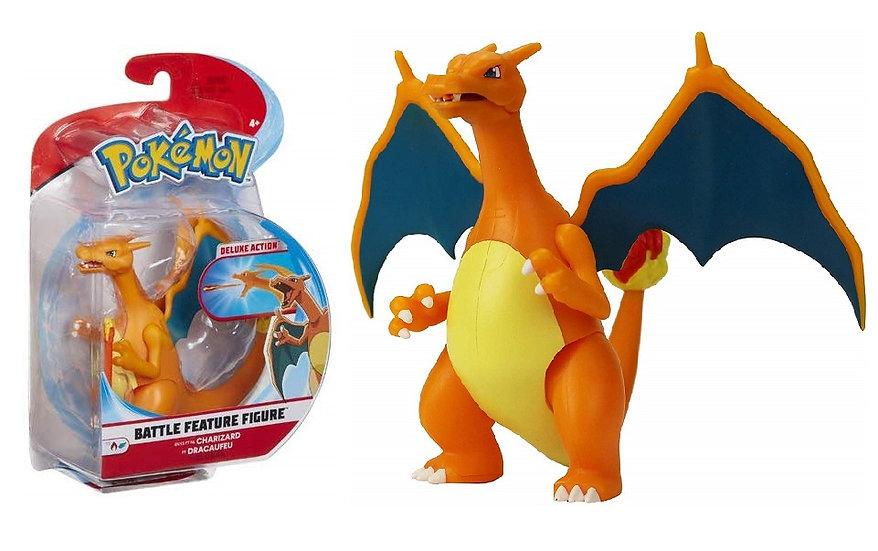 Pokemon Battle Feature Figure Charizard Deluxe Action