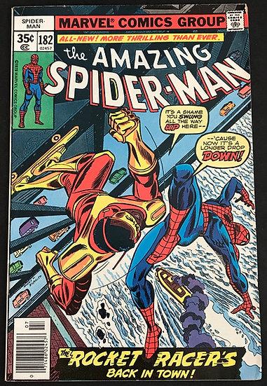Amazing Spider-Man (1963 1st Series) #182 VF-