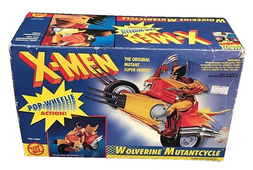 1991 The Original Mutant Super Heroes X-Men Wolverine Mutant Cycle Figure