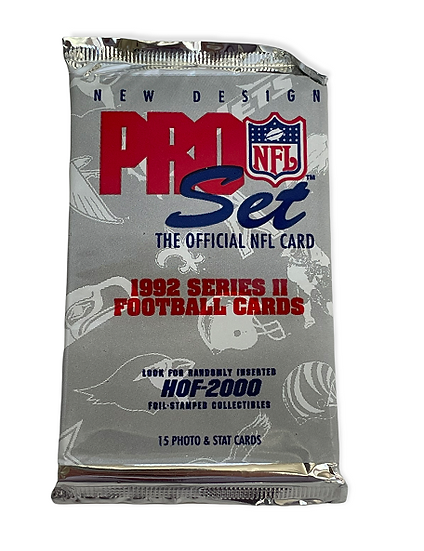 1992 Pro Set Series 2 Football Collectible Card Pack