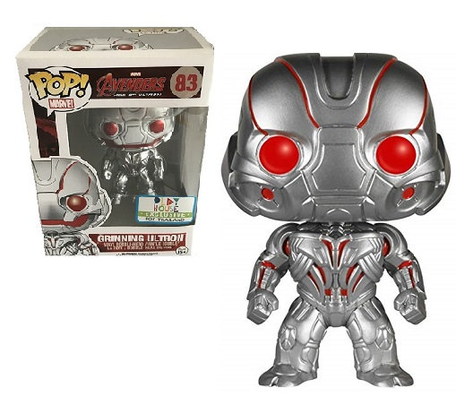 Funko Pop Marvel Avengers Age Of Ultron Grinning Ultron 83 Play House Exclusive