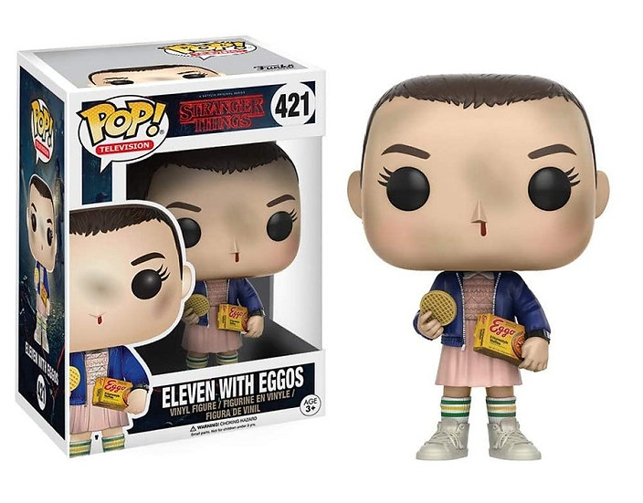 Funko Pop Stranger Things Eleven With Eggos 421