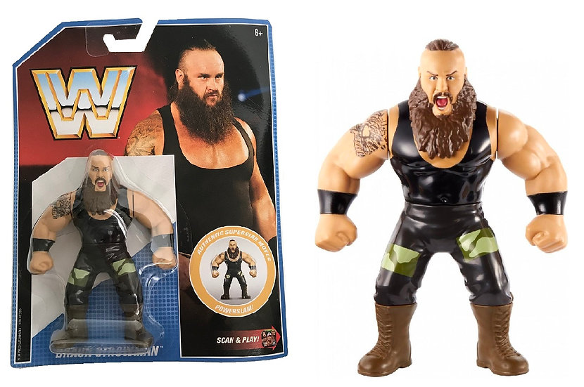 WWE Retro App Braun Strowman Action Figure