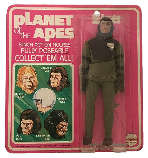 1967 Planet Of The Apes Zira Figure By Mego [Bubble Lifting, Still Scaled]