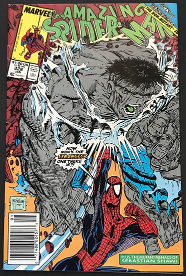 Amazing Spider-Man (Marvel) #328 VF [odd McFarlane cover]