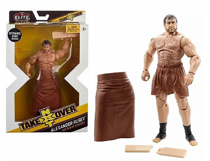 WWE NXT Takeover Alexander Rusev Elite Collection Action Figure
