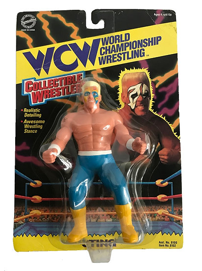 1994 Vintage WCW Wrestling Toymakers Sting Action Figure