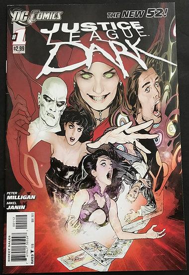 Justice League Dark (2011) #1 VF+ [SECOND PRINTING In the Dark]