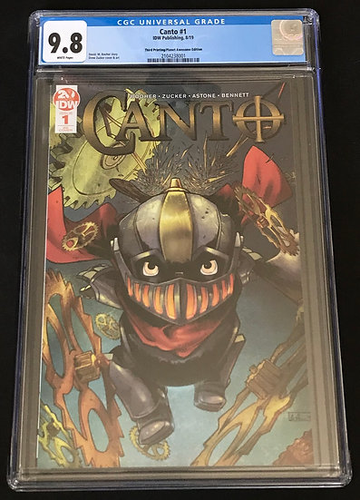 Canto 1 CGC 9.8 White Pages
