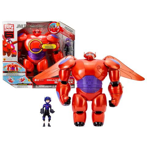 Disney Movie Big Hero 6 Flying Baymax With Hiro Action Figure