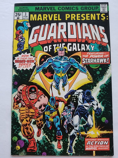 Marvel Presents (1975 Marvel)#3 VF+