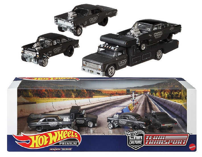 Hot Wheels Premium Collect Display Sets