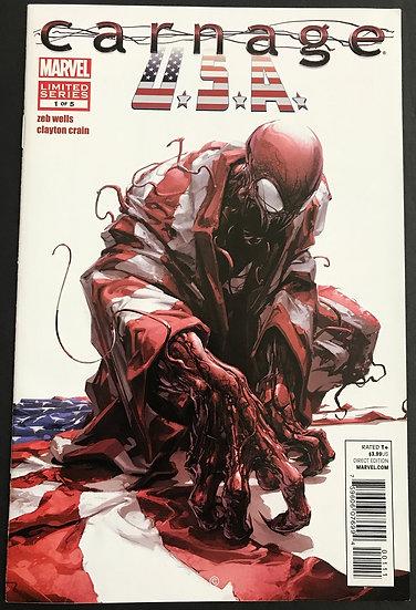 Carnage USA (2011 Marvel) #1 VF