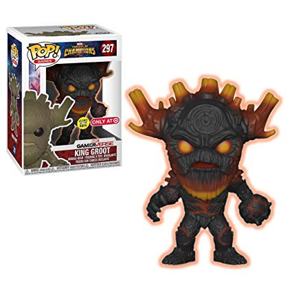 Marvel Contest Of Champions Gamerverse King Groot (Glow In The Dark) 297