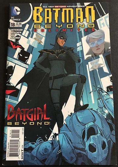 Batman Beyond Unlimited (dc) #18 NM- [1st Batgirl Beyond]
