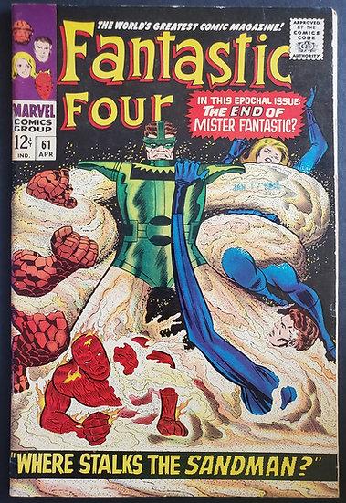 Fantastic Four (1961 1st Series) #61 VF