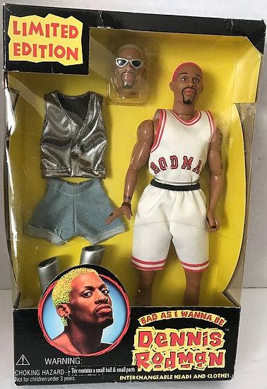 1996 Vintage  Dennis Rodman Limited Edition Doll Bad as I Wanna Be