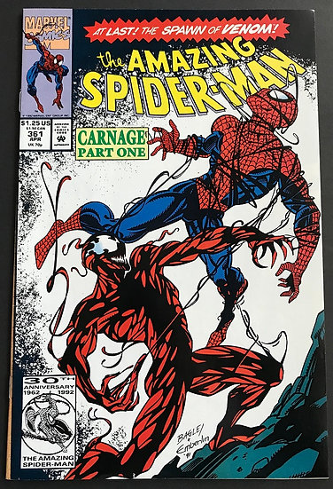 Amazing Spider-Man 361 VF/NM