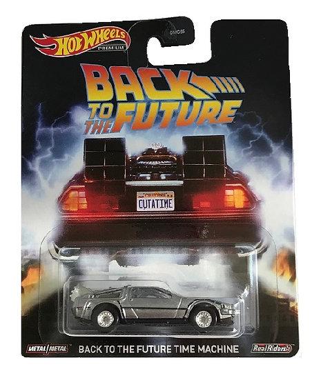 Hot Wheels Premium Back To The Future Time Machine