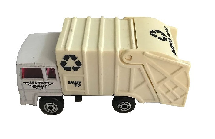 1979 matchbox Metro DPW REFUSE Garbage Truck No.28 [Loose Die-Cast Matchbox]