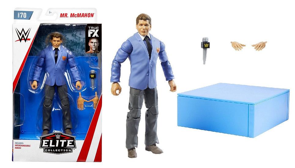 WWE Elite Collection Series Mr. Mcmahon Wrestling Figure