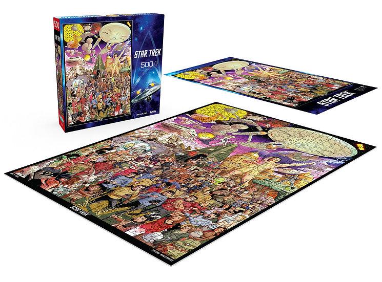 Buffalo Games Star Trek The Original Series 500 Pcs Jigsaw Puzzle