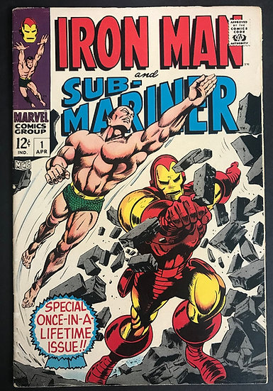 Iron Man and Sub-Mariner (1968) #1 FN