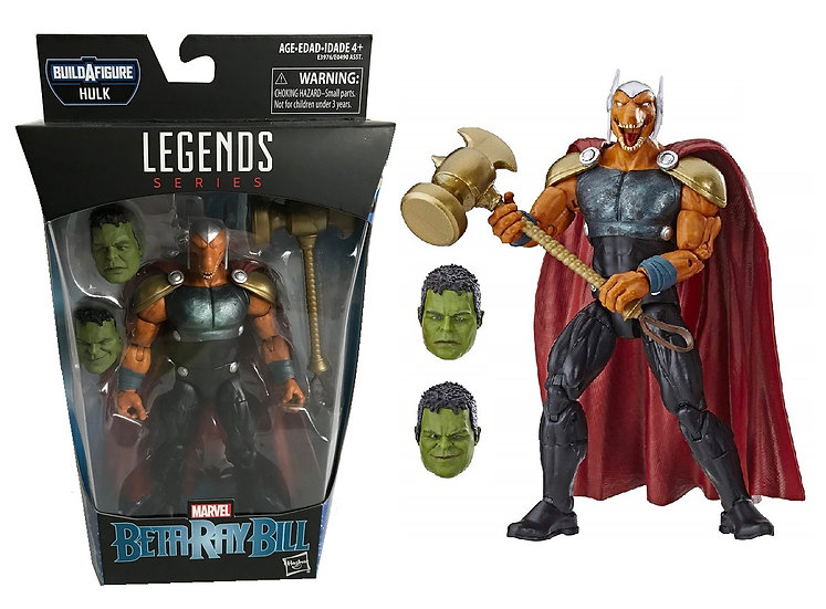 """Marvel Legends Series Beta Ray Bill 6"""" Collectible Action Figure"""