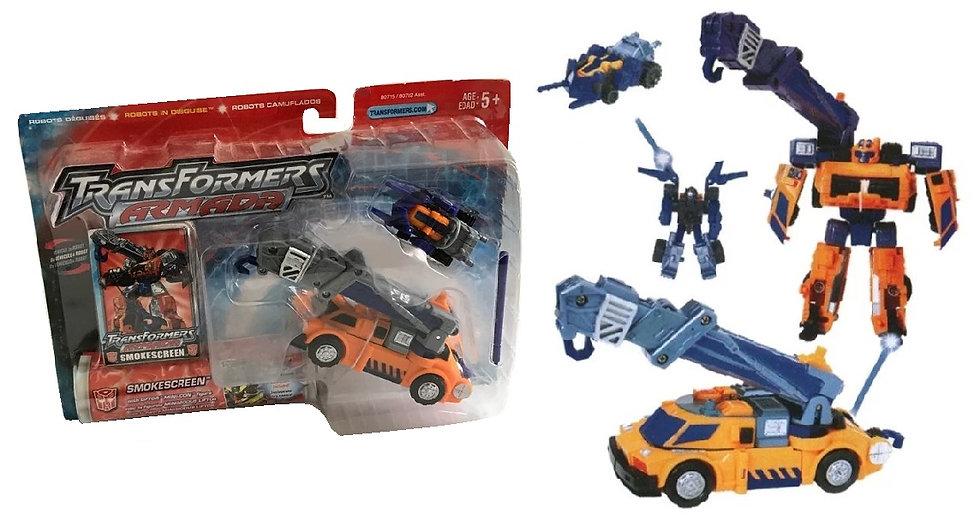 2002 Transformers Armada Smoke Screen Action Figure