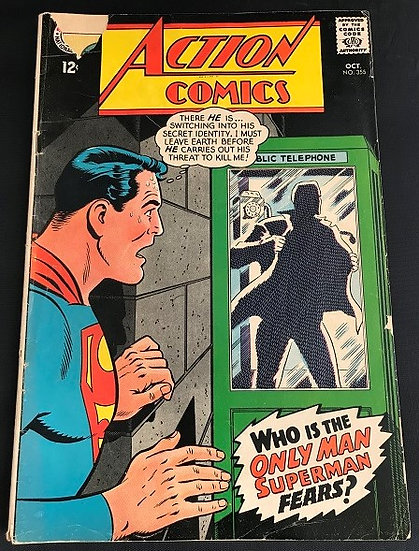 Action Comics #355 GD