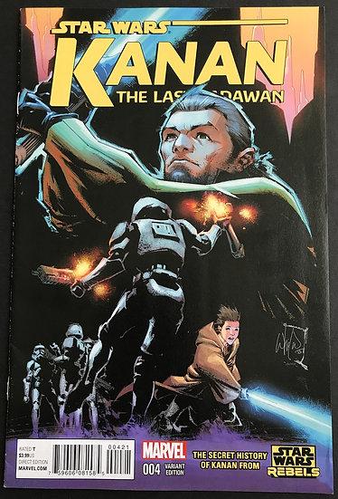 Star Wars Kanan (2015 Marvel) #4 VF [Retailer Incentive Variant Cover]