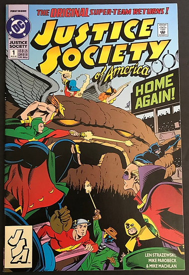 Justice Society of America (1992 2nd Series) #1 NM-