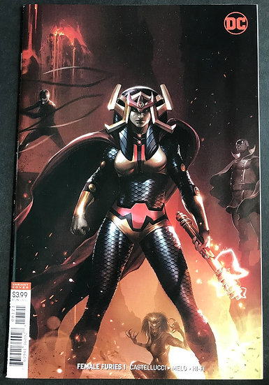 Female Furies Variant 1 VF/NM [1st Issue]