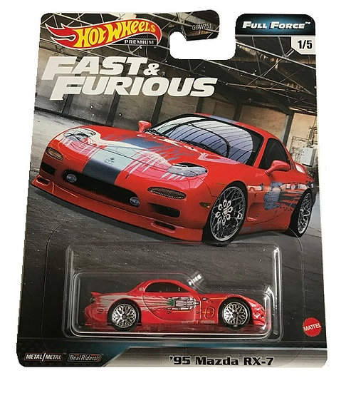 Hot Wheels Premium Fast & FUrious '95 Mazda RX-7