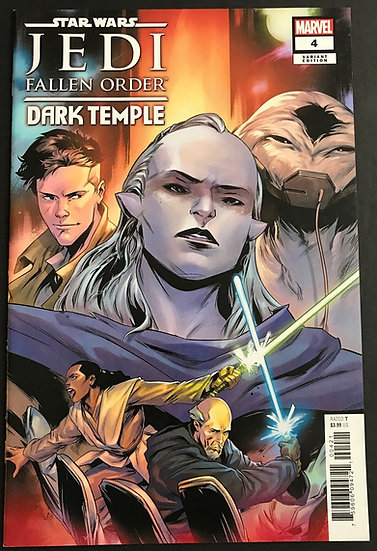 Star Wars Jedi Fallen Order Dark Temple (2019 Marvel) #4 NM [Variant Cover]