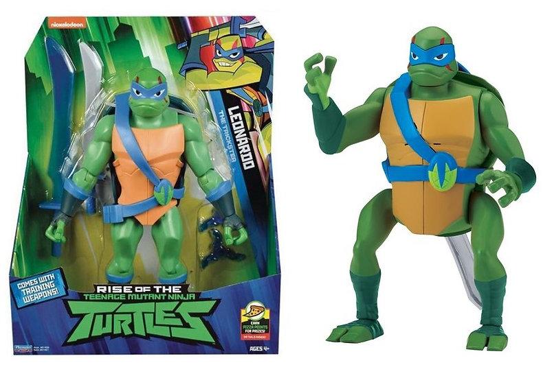 Rise of the Teenage Mutant Ninja Turtle Leonardo Backflip Ninja Attack Figure