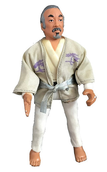 1986 Vintage Karate Kid Mr. Muyagi Figure Only