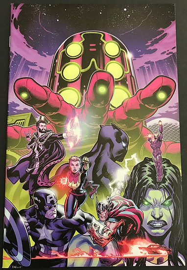 Avengers (2018 8th Series) #2 NM McGuinness Virgin Variant Cover